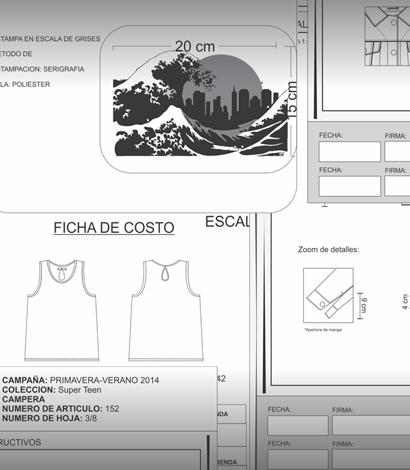 Fichas Técnicas y Geometrales VERANO