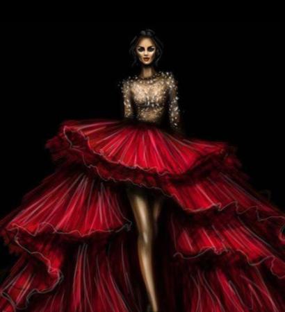Seminario de dibujo de figurín para vestidos de novias, trajes de hombre y pret a porter