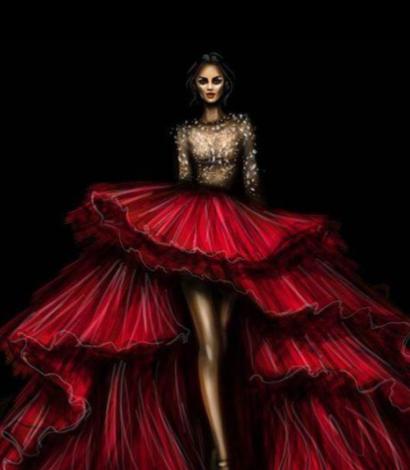Seminario de dibujo de figurín para vestidos de novias, trajes de hombre y pret a porter – 1 DÍA