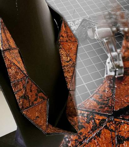 Joyería Textil Experimental Sustentable