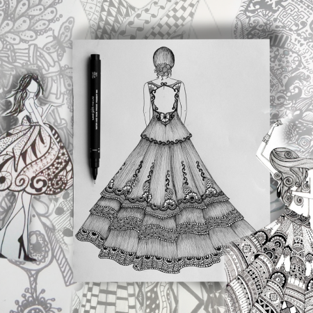 Seminario Figurin Zentangle – 1 DÍA