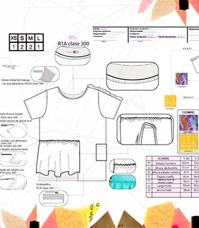 Diseño en Computación, FICHAS TÉCNICAS Y GEOMETRALES – Virtual